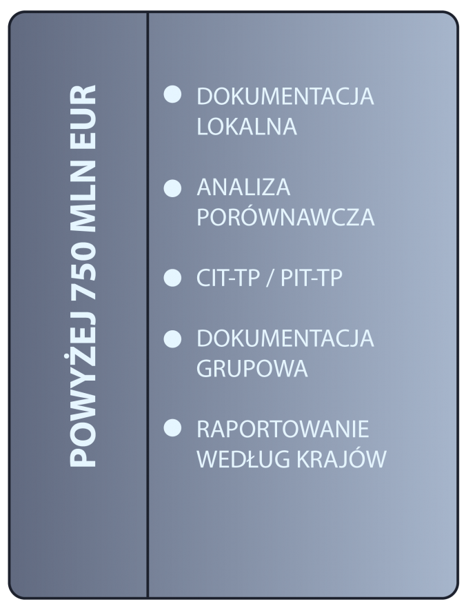 schemat blokowy - pełna dokumentacja cen transferowych